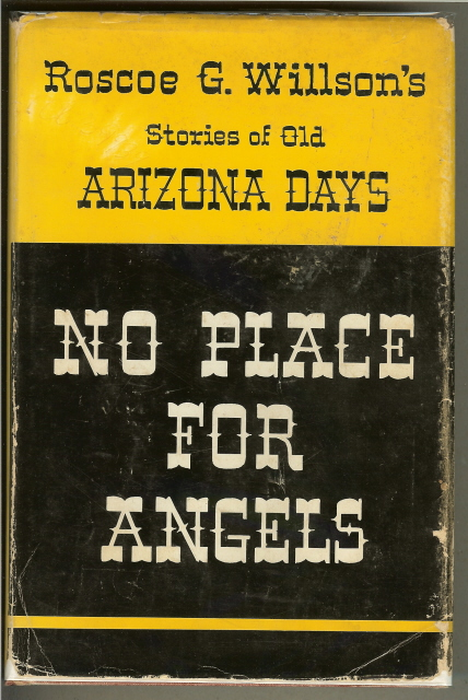 Image for NO PLACE FOR ANGELS. Stories of Old Arizona Days.