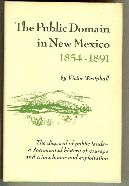 Image for THE PUBLIC DOMAIN IN NEW MEXICO 1854-1891.