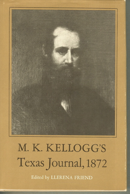 Image for M. K. KELLOGG'S TEXAS JOURNAL 1872.