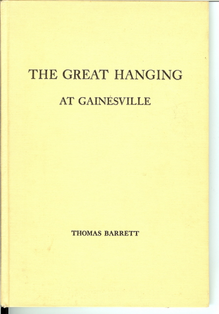 Image for THE GREAT HANGING AT GAINESVILLE.