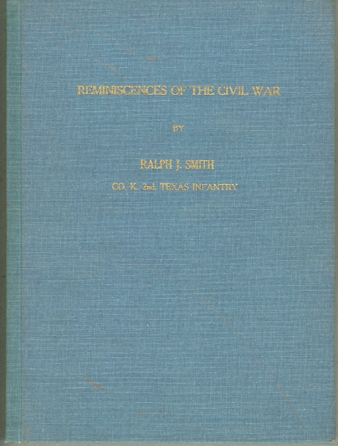 Image for REMINISCENCES OF THE CIVIL WAR.